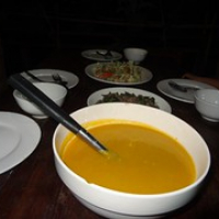 """Kürbiscremesuppe • <a style=""""font-size:0.8em;"""" href=""""http://www.flickr.com/photos/127204351@N02/18675450776/"""" target=""""_blank"""">View on Flickr</a>"""
