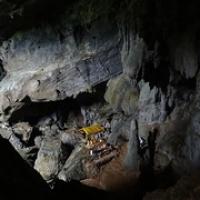 "Phoukam Höhle oberhalb der blauen Lagune • <a style=""font-size:0.8em;"" href=""http://www.flickr.com/photos/127204351@N02/19199174486/"" target=""_blank"">View on Flickr</a>"