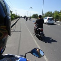 """mit dem Moped in Indonesien unterwegs • <a style=""""font-size:0.8em;"""" href=""""http://www.flickr.com/photos/127204351@N02/17693399146/"""" target=""""_blank"""">View on Flickr</a>"""