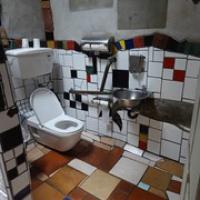 "Hundertwasser Toilette • <a style=""font-size:0.8em;"" href=""http://www.flickr.com/photos/127204351@N02/16386511352/"" target=""_blank"">View on Flickr</a>"