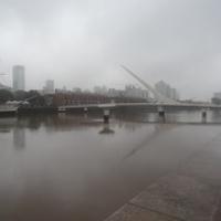 "die neue Brücke im Hafen • <a style=""font-size:0.8em;"" href=""http://www.flickr.com/photos/127204351@N02/15717293989/"" target=""_blank"">View on Flickr</a>"