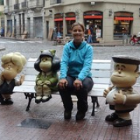"""ich mit Mafalda auf einer Bank • <a style=""""font-size:0.8em;"""" href=""""http://www.flickr.com/photos/127204351@N02/15283702093/"""" target=""""_blank"""">View on Flickr</a>"""