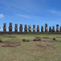 "Tongariki...die größte Ansammlung von Moai • <a style=""font-size:0.8em;"" href=""http://www.flickr.com/photos/127204351@N02/15902715182/"" target=""_blank"">View on Flickr</a>"