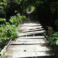 """über diese Brücke schieben wir lieber • <a style=""""font-size:0.8em;"""" href=""""http://www.flickr.com/photos/127204351@N02/17625835034/"""" target=""""_blank"""">View on Flickr</a>"""