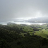 """Banks Peninsula im Dunst • <a style=""""font-size:0.8em;"""" href=""""http://www.flickr.com/photos/127204351@N02/16224069281/"""" target=""""_blank"""">View on Flickr</a>"""
