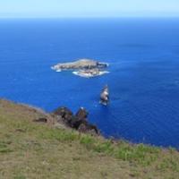"""die hintere Insel ist Motu Nui...dort gabs die Eier für den Vogelmannkult • <a style=""""font-size:0.8em;"""" href=""""http://www.flickr.com/photos/127204351@N02/15716058290/"""" target=""""_blank"""">View on Flickr</a>"""