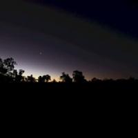 """Sonnenaufgang im Nirgendwo - so war es wenigsten ein paar Stunden nur """"warm"""" • <a style=""""font-size:0.8em;"""" href=""""http://www.flickr.com/photos/127204351@N02/17853663008/"""" target=""""_blank"""">View on Flickr</a>"""